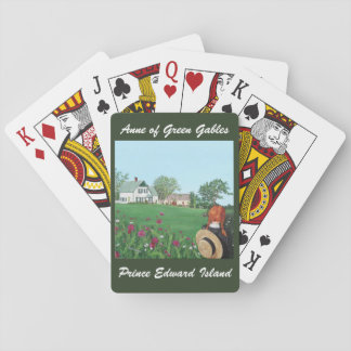 """""""Looking on with Love"""" Anne of Green Gables Playing Cards"""