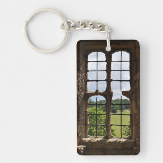 Looking Out Acrylic Keychain