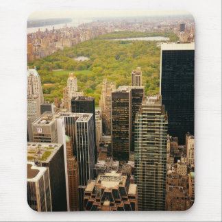 Looking Out At Central Park From Above, NYC Mouse Pad