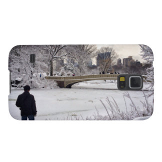 Looking Out Over A Frozen Pond Galaxy S5 Cover