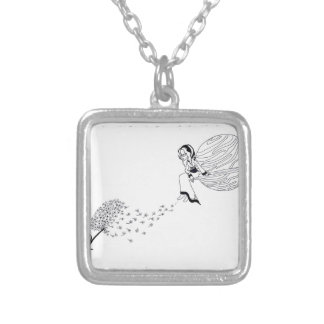 Looking Out Silver Plated Necklace