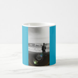 Looking out to sea in Cornwall Coffee Mug