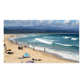 Looking over a beautiful South African Beach Business Card