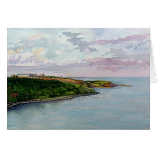 Looking Towards Howick Haven Card