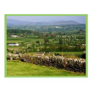 Looking Towards The Wicklow And Dublin Mountains F Postcard