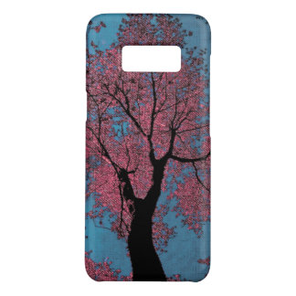 Looking Up at a Blue Sky & Pink Trees Case-Mate Samsung Galaxy S8 Case