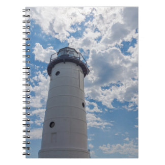 Looking Up Manistee Lighthouse Notebook
