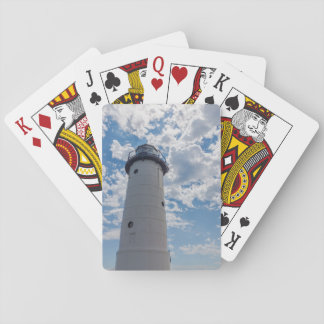 Looking Up Manistee Lighthouse Playing Cards