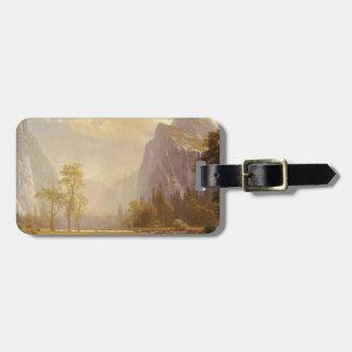 Looking Up the Yosemite Valley - Albert Bierstadt Bag Tag