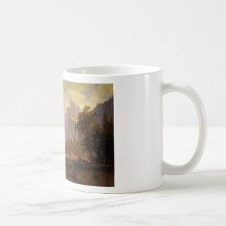 Looking Up the Yosemite Valley - Albert Bierstadt Coffee Mug