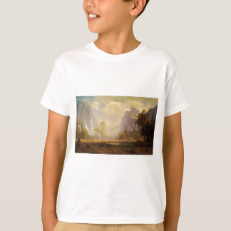 Looking Up the Yosemite Valley - Albert Bierstadt T-Shirt