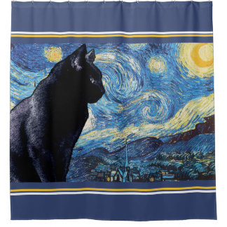Lookout Kitty:  Starry Night