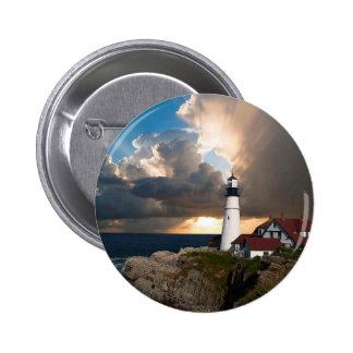 Lookout Lighthouse 2 Inch Round Button