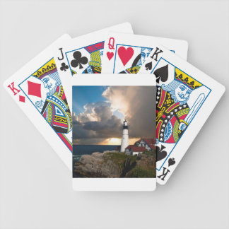 Lookout Lighthouse Bicycle Playing Cards