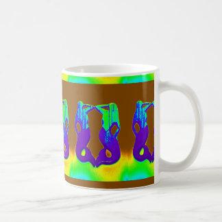 lookout mermaids coffee mug