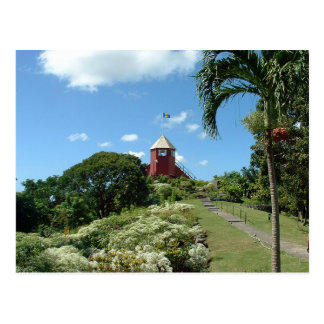 Lookout tower on Barbados Postcard