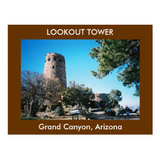 Lookout Tower Postcard