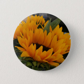 Looks Like a Sunflower 2 Inch Round Button