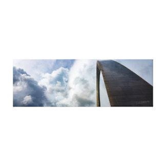 Lookup Gateway Arch St. Louis, MO   36 x 12 Canvas