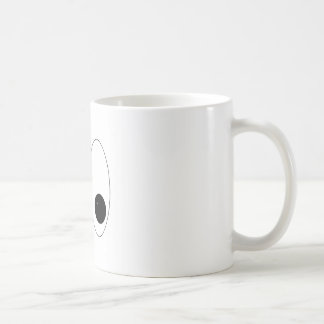 Looky There Eyes Classic White Coffee Mug
