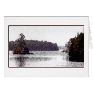 Loon Island Misty Mindscape Card