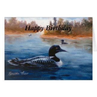 Loon Lake Blank Card