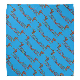 Loon Patterned Bandana