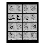 LOONEY TUNES™ Character Emotion Chart