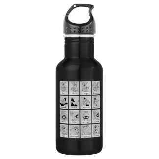 LOONEY TUNES™ Character Emotion Chart 532 Ml Water Bottle