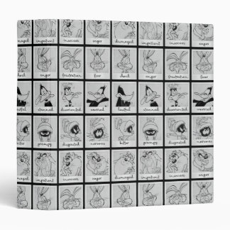 LOONEY TUNES™ Character Emotion Chart Binder