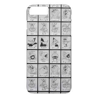 LOONEY TUNES™ Character Emotion Chart iPhone 8 Plus/7 Plus Case