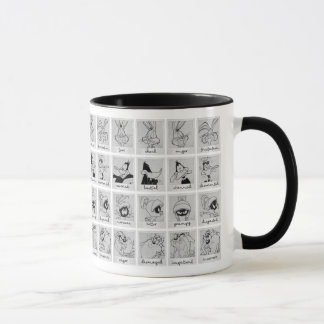 LOONEY TUNES™ Character Emotion Chart Mug