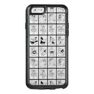 LOONEY TUNES™ Character Emotion Chart OtterBox iPhone 6/6s Case