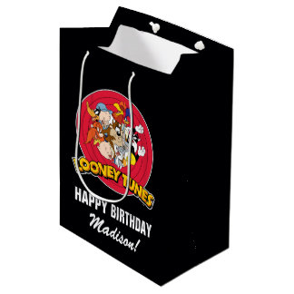 LOONEY TUNES™ Character Group | Birthday Medium Gift Bag