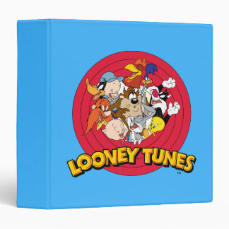 LOONEY TUNES™ Character Logo 3 Ring Binders