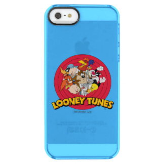 LOONEY TUNES™ Character Logo Clear iPhone SE/5/5s Case