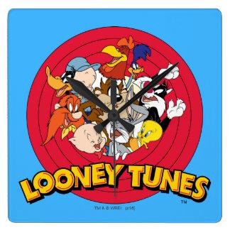 LOONEY TUNES™ Character Logo Clock