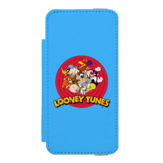 LOONEY TUNES™ Character Logo Incipio Watson™ iPhone 5 Wallet Case