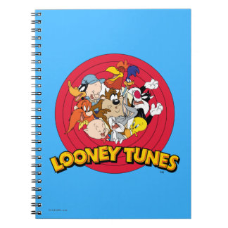 LOONEY TUNES™ Character Logo Note Book