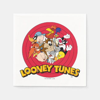 LOONEY TUNES™ Character Logo Paper Napkins