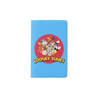 LOONEY TUNES™ Character Logo Pocket Moleskine Notebook