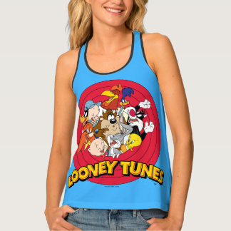 LOONEY TUNES™ Character Logo Tank Top