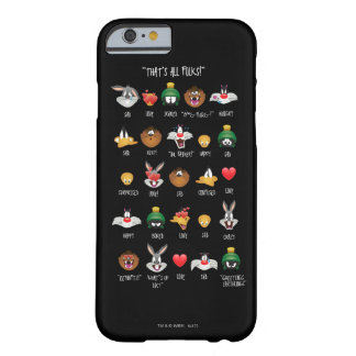 LOONEY TUNES™ Emoji Chart Barely There iPhone 6 Case