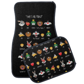 LOONEY TUNES™ Emoji Chart Car Mat