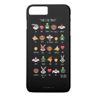 LOONEY TUNES™ Emoji Chart iPhone 7 Plus Case