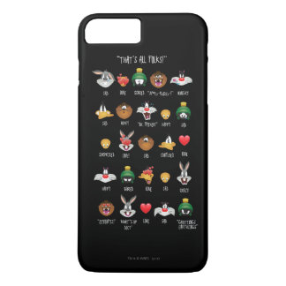 LOONEY TUNES™ Emoji Chart iPhone 8 Plus/7 Plus Case