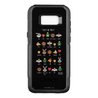 LOONEY TUNES™ Emoji Chart OtterBox Commuter Samsung Galaxy S8+ Case