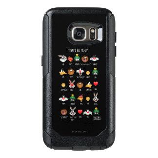 LOONEY TUNES™ Emoji Chart OtterBox Samsung Galaxy S7 Case