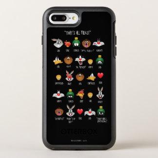 LOONEY TUNES™ Emoji Chart OtterBox Symmetry iPhone 8 Plus/7 Plus Case