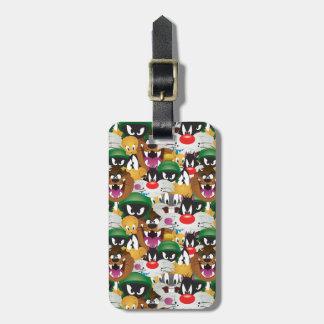 LOONEY TUNES™ Emoji Pattern Bag Tag